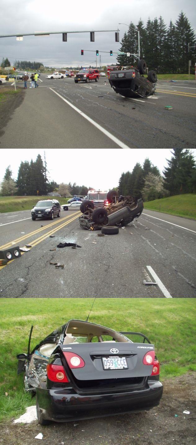 Two Die in Crash on Highway 26 West of Sandy (PHOTOS) - Salem-News Com