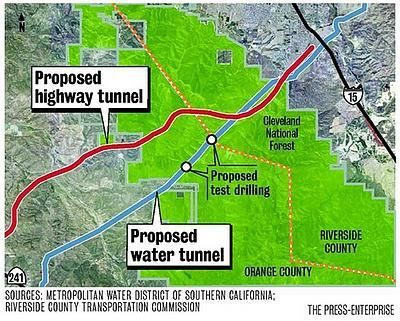 Irvine-Corona Tunnel Through Cleveland National Forest Is Possible ...