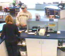 surveillance picture of MAPS Credit Union robber #4