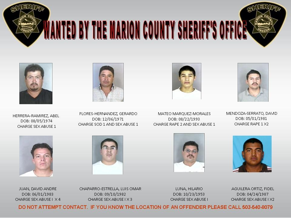 Detectives Searching for Wanted Suspects - Salem-News Com