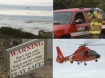 Images of Coast Guard rescues by Tim King