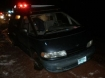 Toyota van used in attempt to elude police