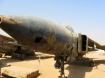 Old Iraqi jet fighter from Camp Anaconda at Balad, Iraq