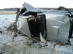 Rollover crash near Prineville, Ore. 12-23-09