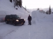 File photo of another recent Santiam Pass closure in Oregon