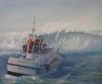 47 foot rescue boat stationed at Coast Guard Station Tillamook