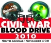 Civil War Blood Drive Logo