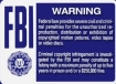 FBI Warning logo