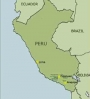 Peru earthquake map