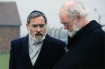 The Chief Rabbi, Sir Jonathan Sacks and the Archbishop of Canterbury, Dr Rowan Williams during their visit to Auschwitz