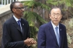 Kagame and UN Chief Ban ki Moon