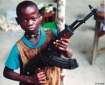 Child soldier in The Congo
