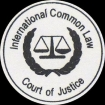The Official Stamp and Logo of The International Common Law Court of Justice (ICLCJ).