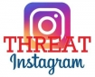 instagram threat