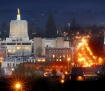 Salem Oregon skyline