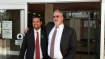 Eric Salerno and attorney Michael Levinsohn