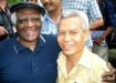 Sombath Somphone with Desmond Tutu