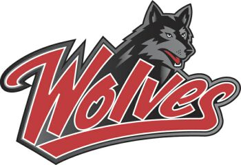 western oregon university wolves sports logos chris