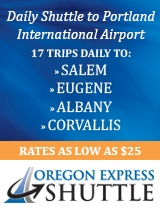 SAFE. RELIABLE. SECURE. Daily Shuttle to Portland International Airport
