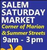Every Saturday thru October! 9 am to 3 pm at the corner of Summer & Marion Streets