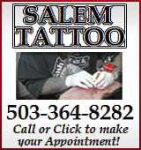 Since 1985, Salem Tattoo is one of the oldest and most established shops in Salem, in Oregon's Willamette Valley.