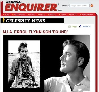 National Enquirer Sean Flynn story