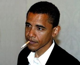 Obama is a cigarette smoker