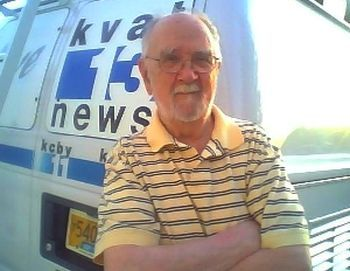 Hank's photo, taken in December 2009 in front of his son Loren's live truck in Eugene, Oregon, offers a hint of this reporter's connection to a whole generation of younger Ruarks in news today.