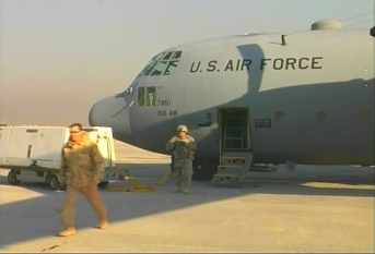C-130 aircraft in Afghanistan