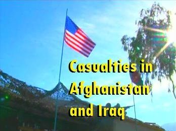 Casualties in Iraq and Afghanistan