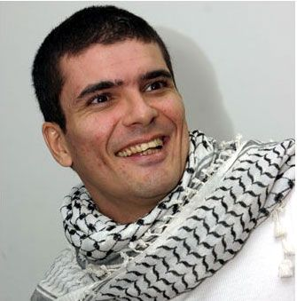 Renowned Brazilian anti-imperialist activist and cartoonist, Carlos Latuff