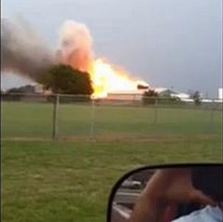 Explosion at West Texas fertilizer plant