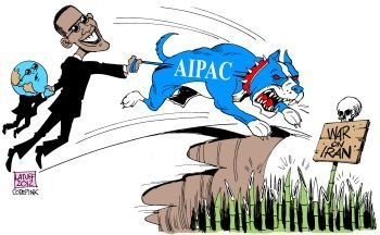 AIPAC urges Obama to attack Iran - Carlos Latuff