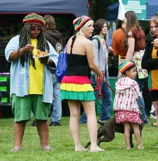 Portland Hempsters at last summer's HempStalk Event