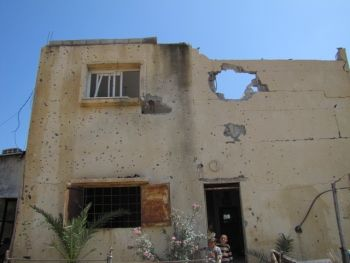 Nasser's home in Gaza