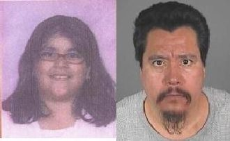 Police say 13-year old Cynthia Irene Hernandez was taken by suspect, 45-year old Juan Cuella Hernand.