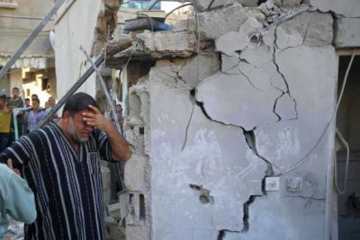 Gaza Bomb Damage