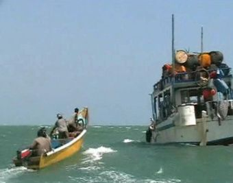 Pirates near Somalia