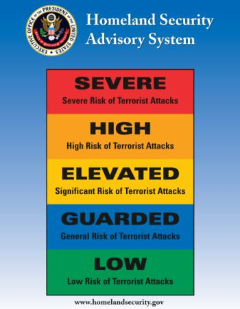 a description of terrorism and other homeland security threats In 2011, the department of homeland security (dhs) replaced the color-coded alerts of the homeland security advisory system (hsas) with the national terrorism advisory system (ntas), designed to more effectively communicate information about terrorist threats by providing timely, detailed.
