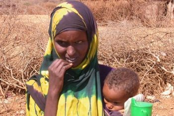 Woman and child in Somalia