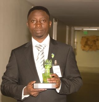 The Democratic Green Party of Rwanda was launched on 14 August 2009.