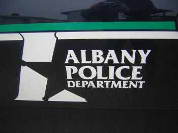Albany Police car door logo