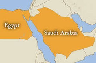 strategic divisions between egypt and saudi arabia salem news com Egypt Saudi Arabia Map egypt saudi arabia map egypt saudi arabia bridge