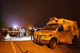 Israeli ambulance attacked