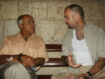 Mordechai Vanunu and Ken O'Keefe