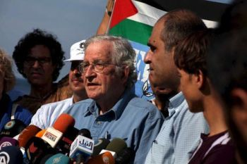 Noam Chomsky in Gaza – Oct 2012
