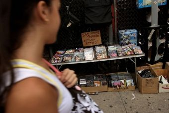 Illegal DVD's in Mexico