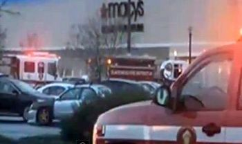 Video frame from Clackamas Mall shooting