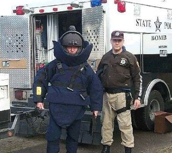 Senior Trooper Bill Hakim with the Oregon State Police