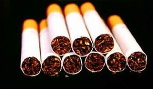 Cigarette stack
